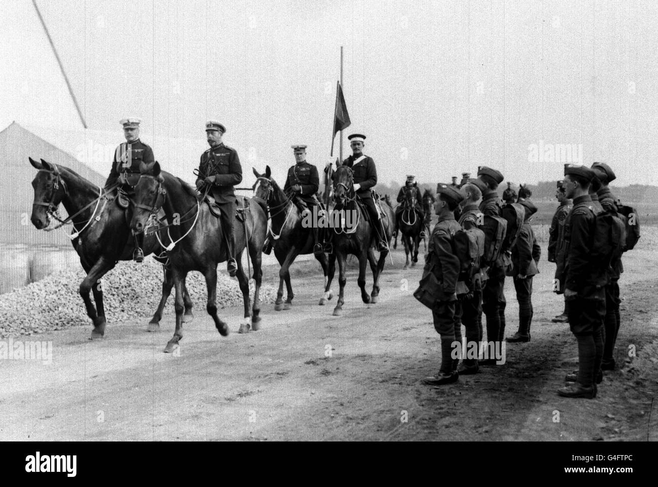 War - First World War - Royal Flying Corps - Farnborough - Stock Image