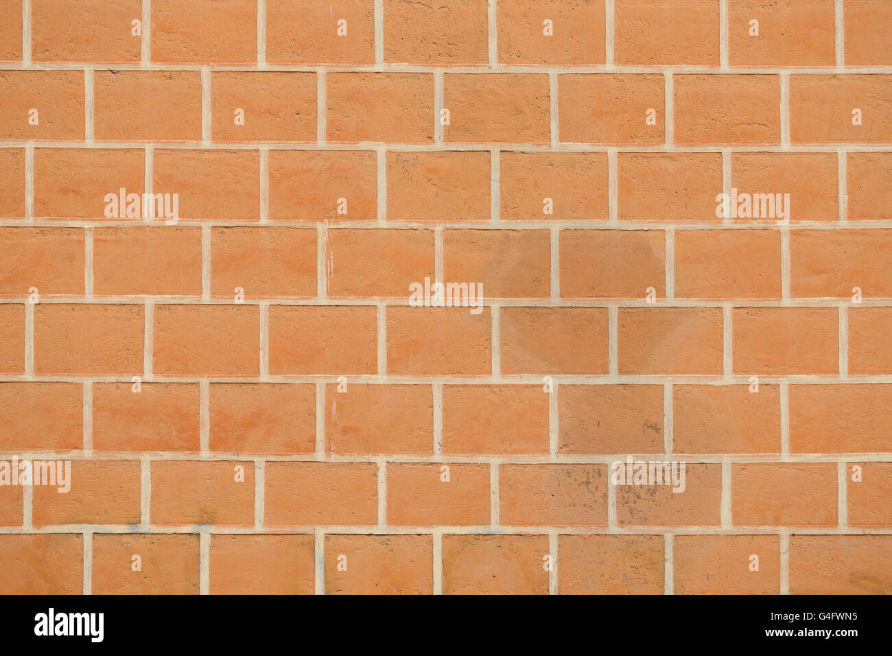 Close up of brick wall background Stock Photo