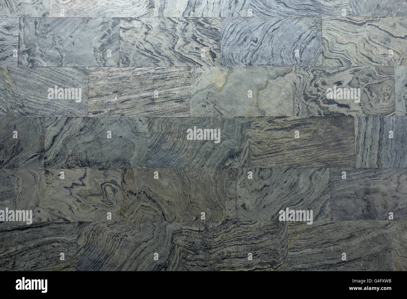 Marble tile architectural cladding background Stock Photo