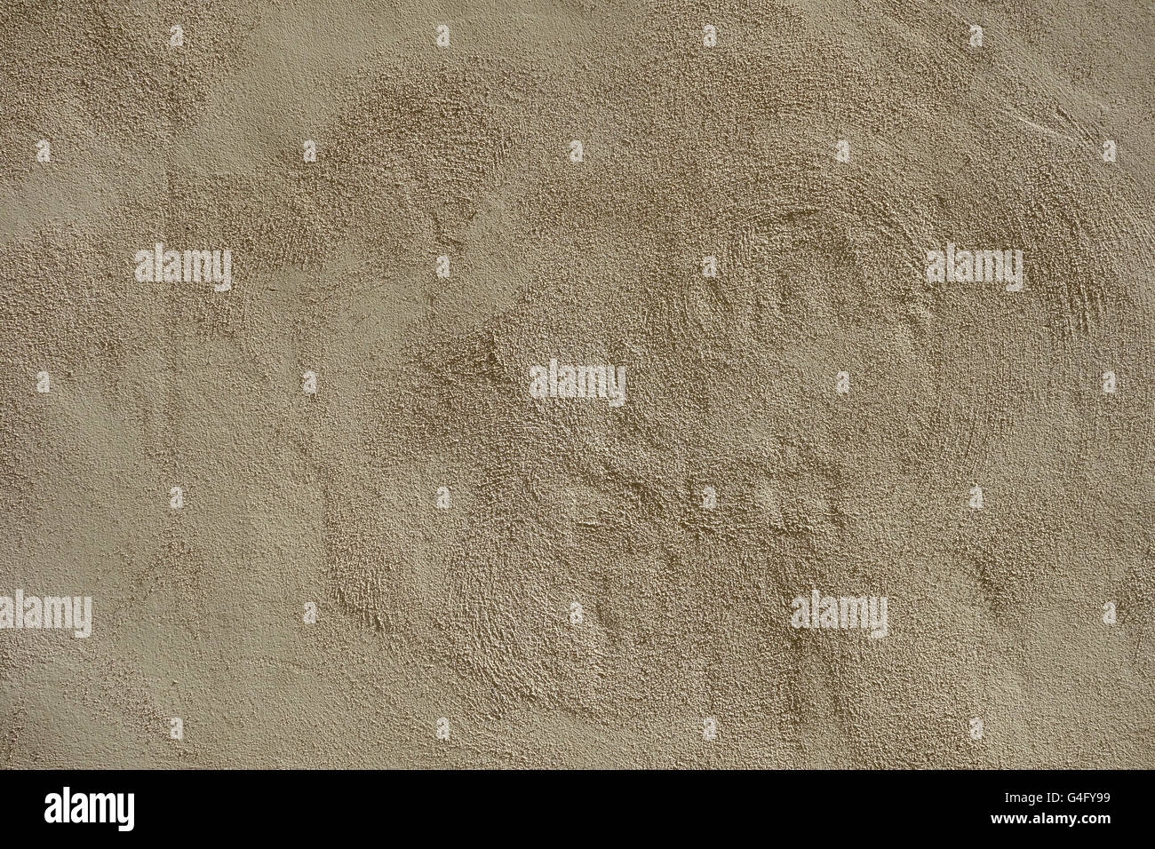 Rough sandy texture stucco wall background Stock Photo
