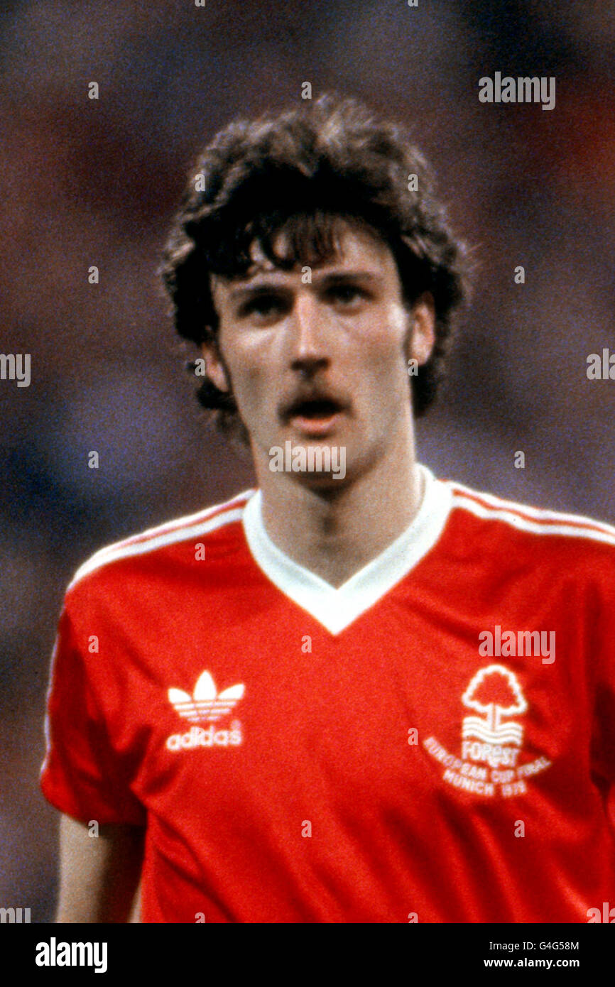 Soccer - European Cup Final - Nottingham Forest v Malmo - Olympic Stadium, Munich - Stock Image