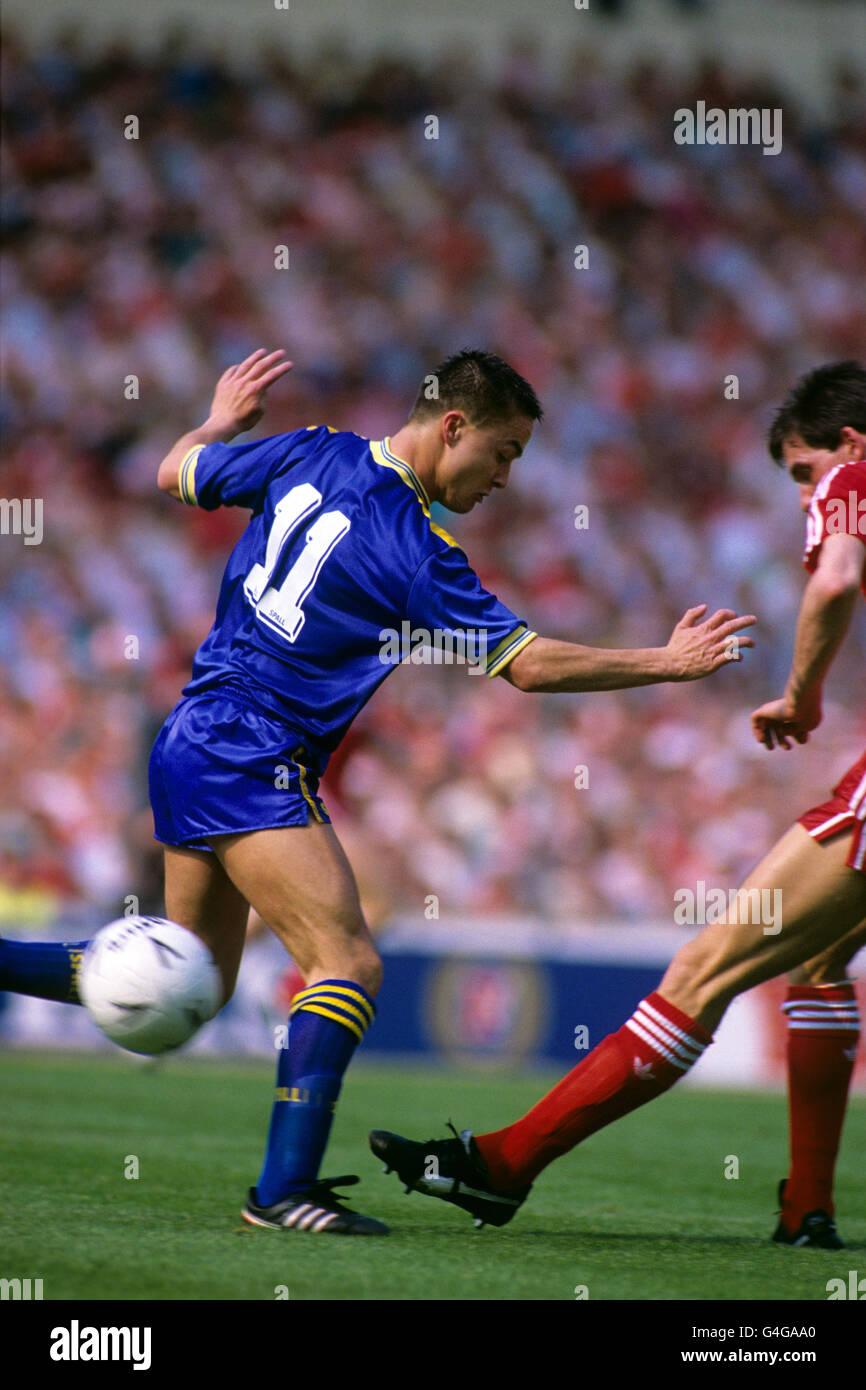 Soccer - FA Cup - Final - Liverpool v Wimbledon - Wembley - Stock Image