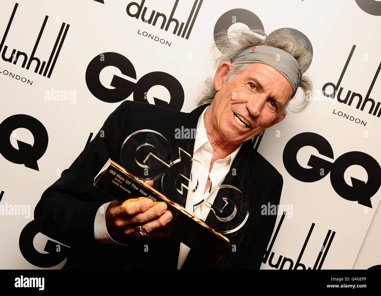 GQ Men of the Year Awards 2011 - London - Stock Image