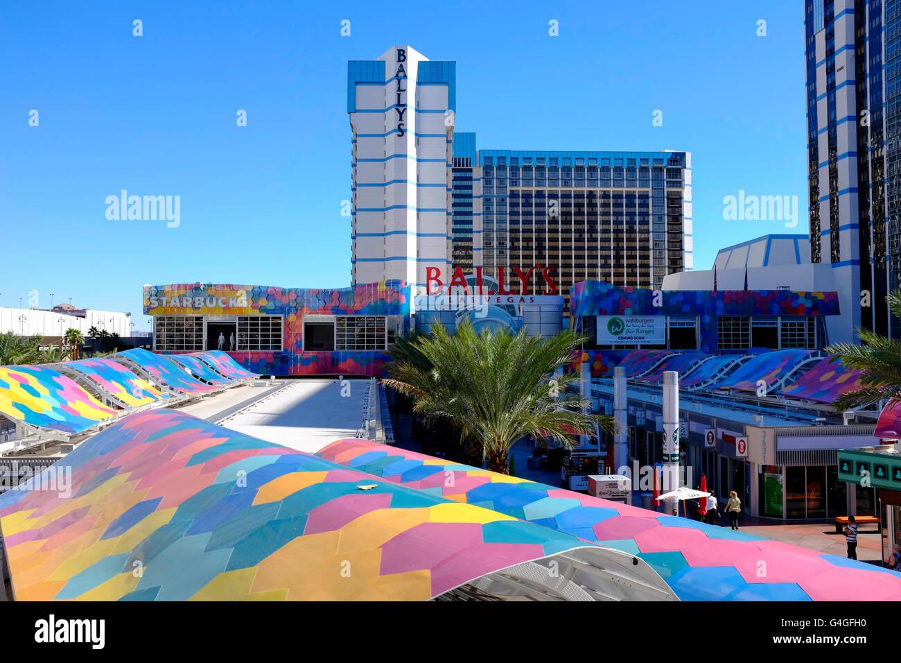 Ballys Hotel, Las Vegas, USA - Stock Image