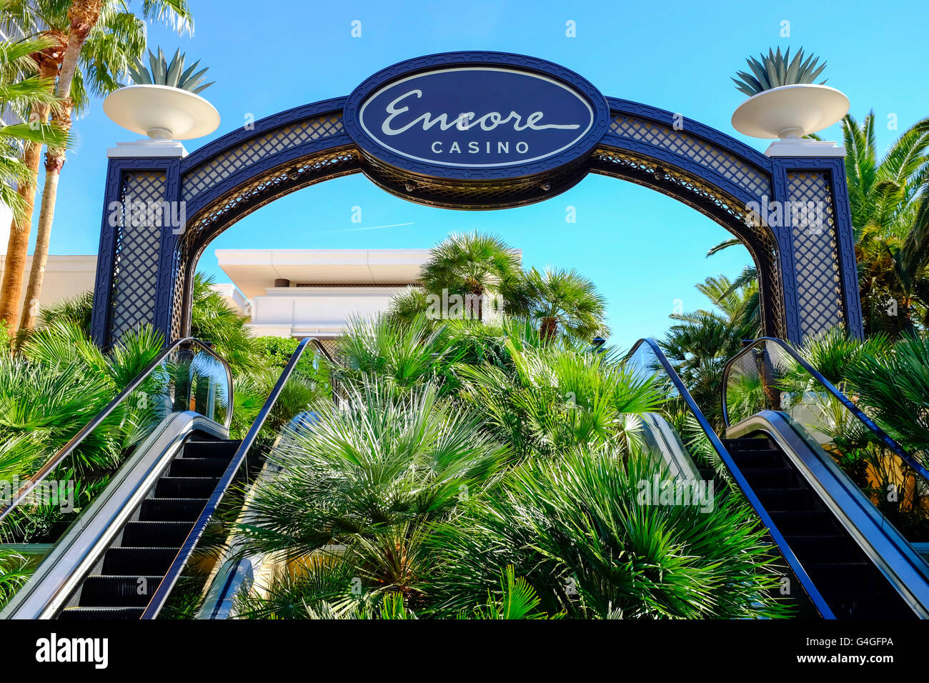 Encore Hotel and Casino in Las Vegas. - Stock Image
