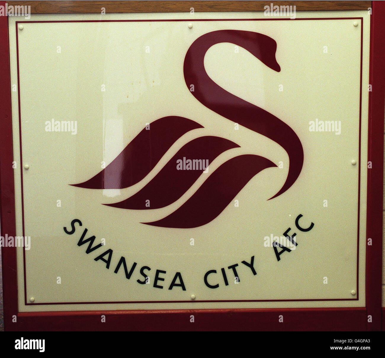 Swansea City football club badge - Stock Image