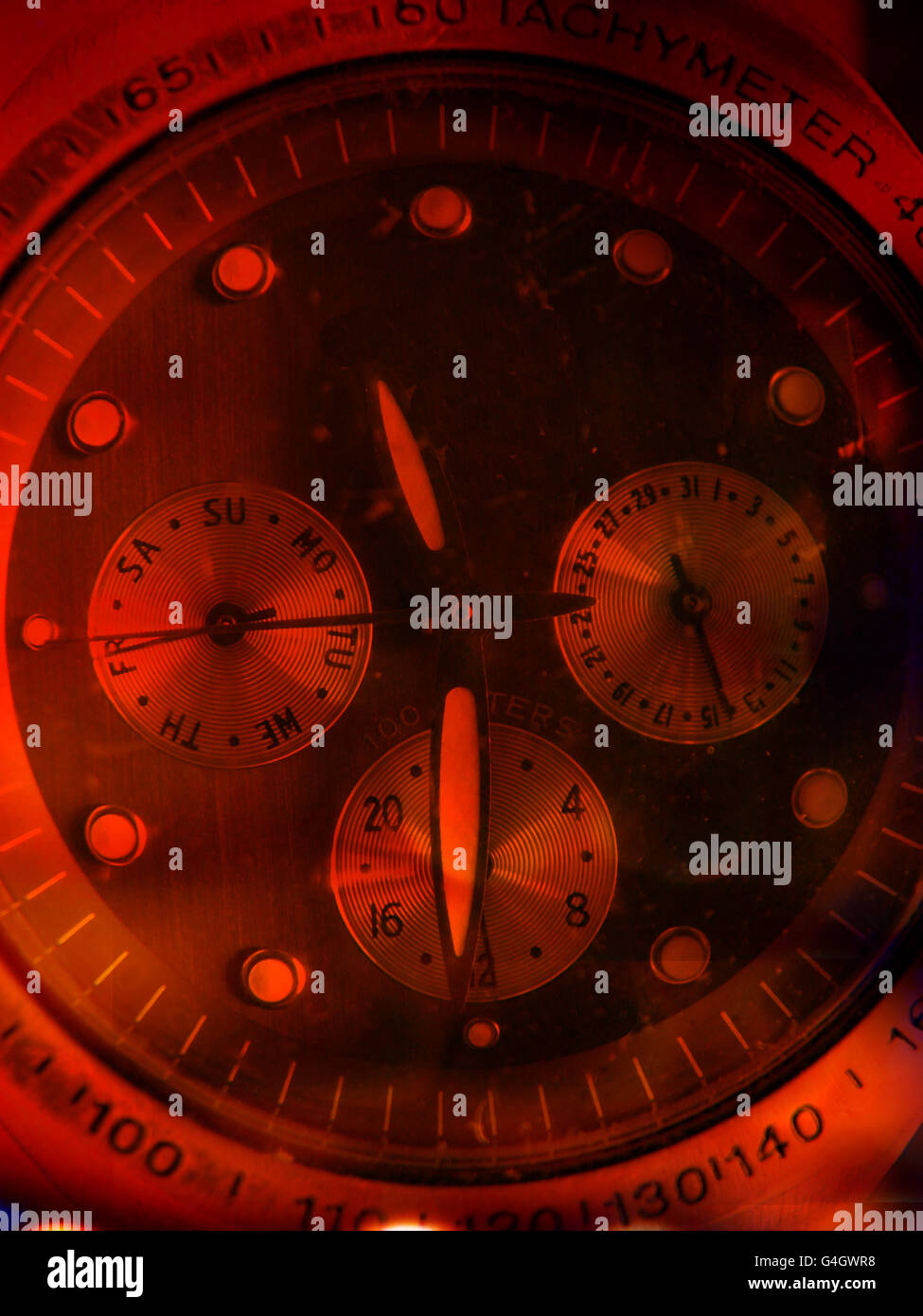 Abstract Watch - Stock Image