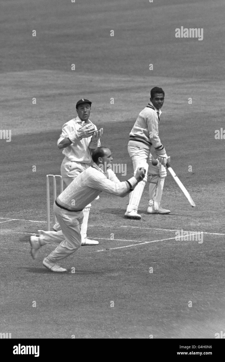 Cricket - M.C.C v India - Last Day - Lord's - Stock Image