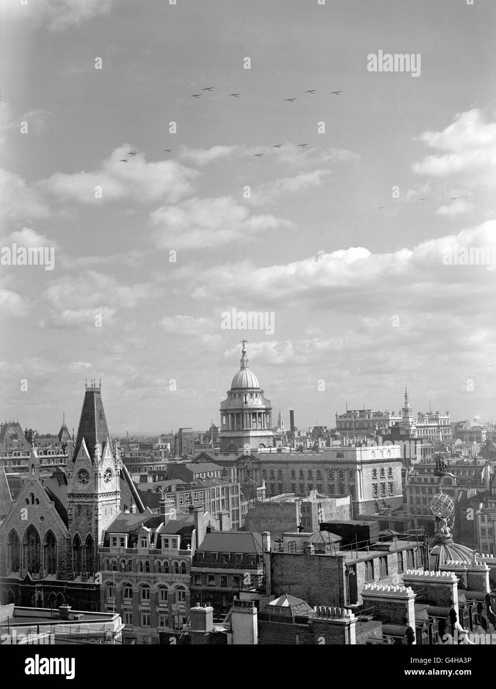 Skyline London 1940 Black And White Stock Photos Images