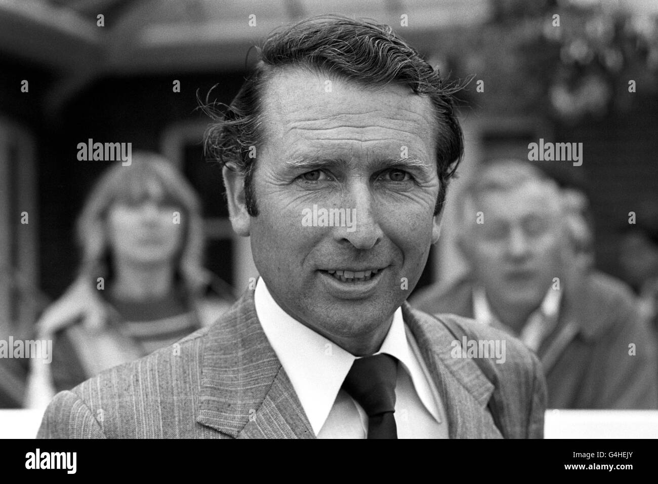 Horse Racing - Michael Jarvis - Newmarket - Stock Image