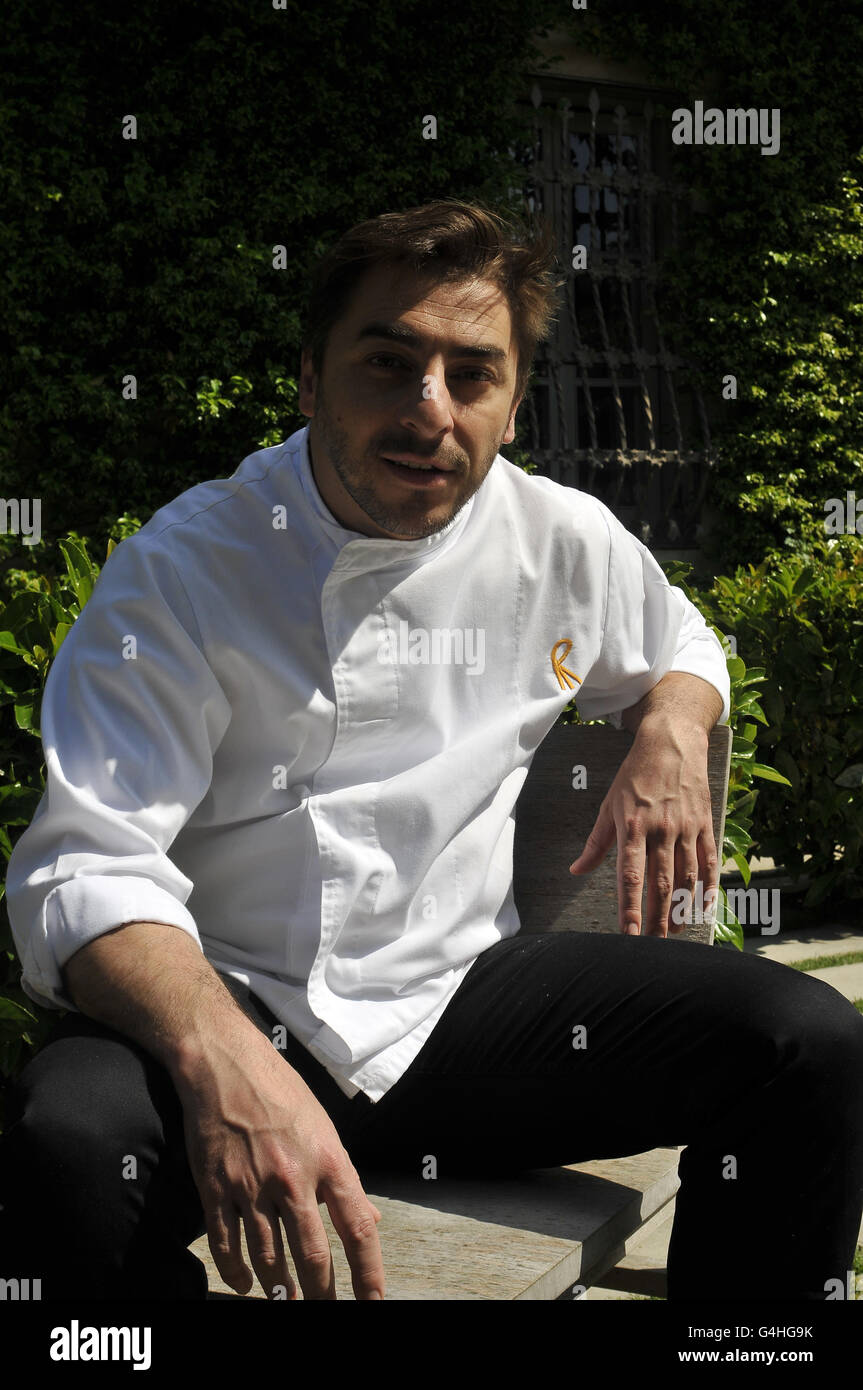 Jordi Roca , Chef at El Celler de Can Roca restaurant in Girona, Catalonia, Spain. - Stock Image
