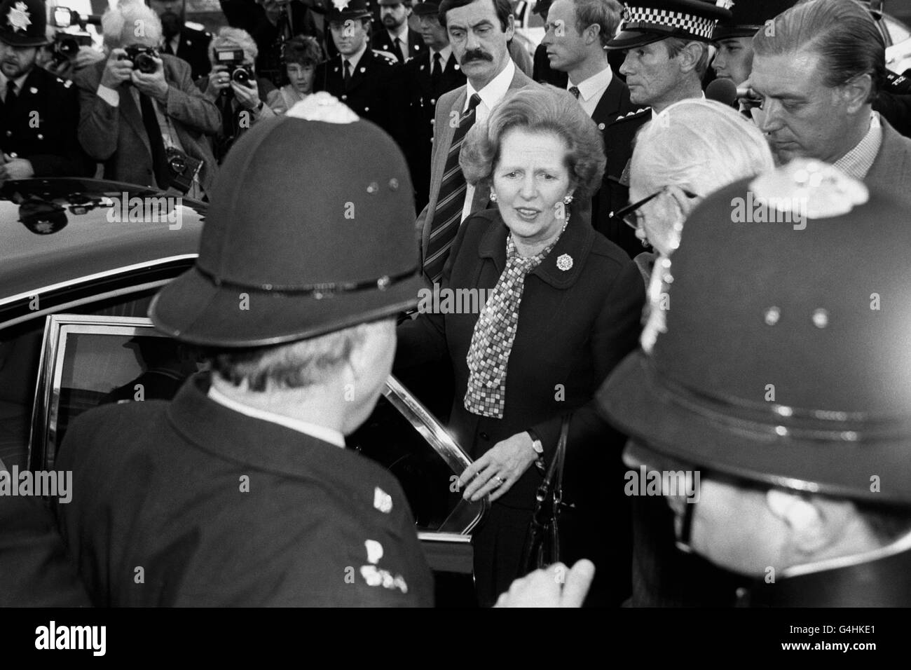 Politics - Brighton Bombing - 1984 - Stock Image