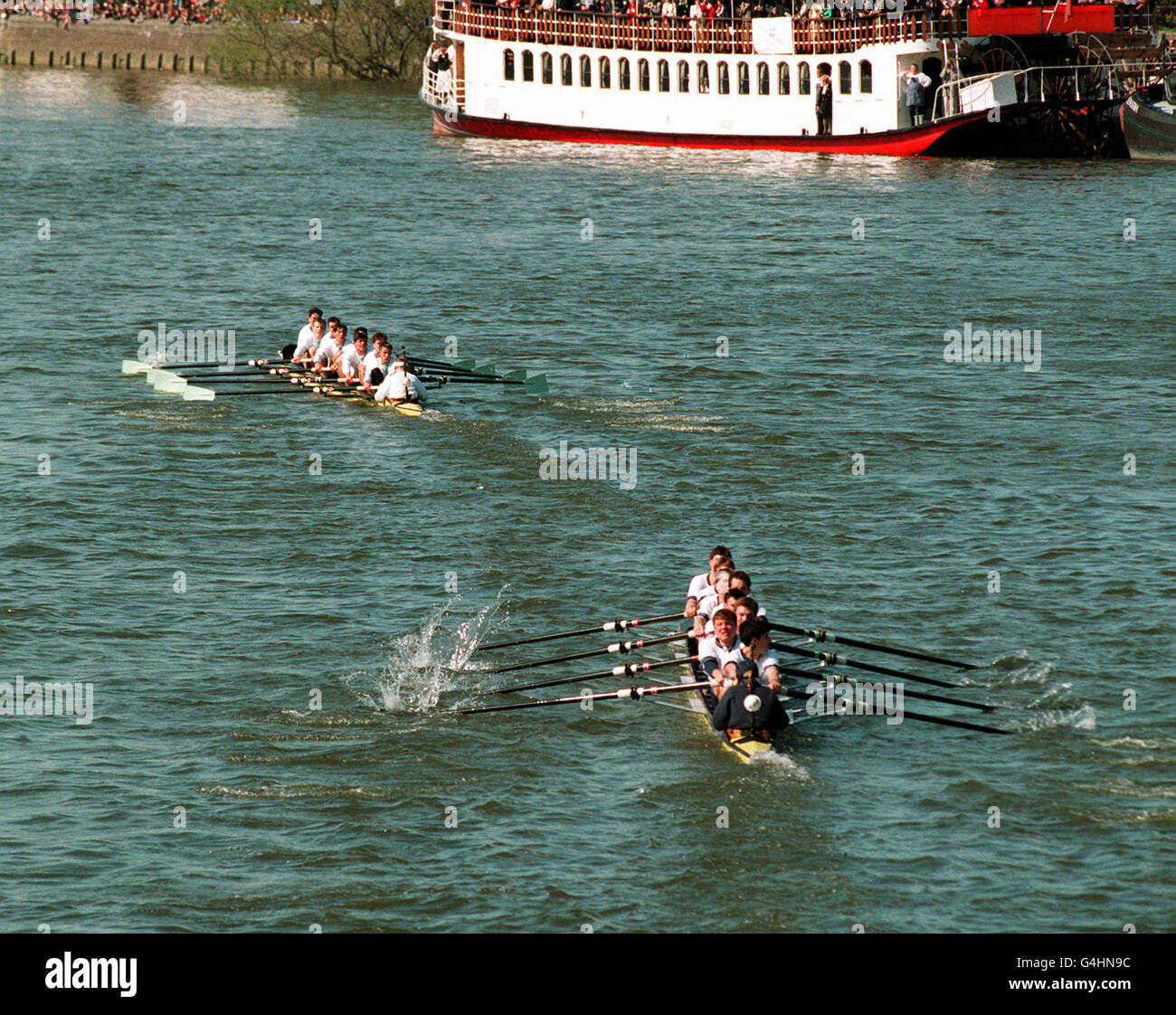 Boat Race 1994 - Stock Image