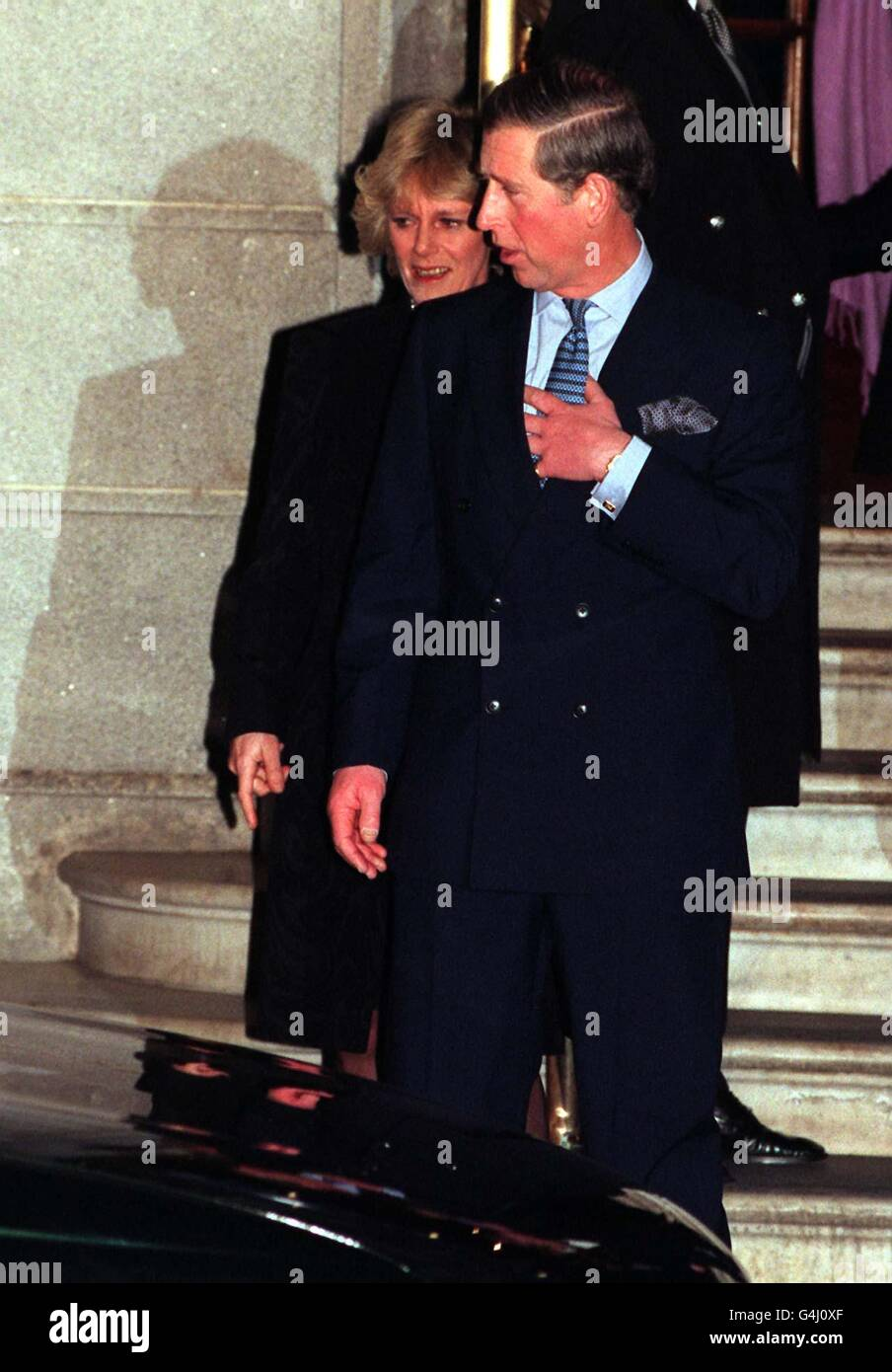 Prince of Wales & Camilla: Ritz 3 Stock Photo