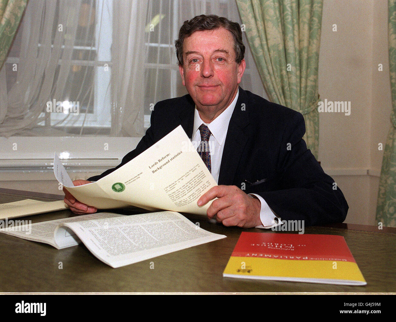 Lord Wakeham/House of Lords 1 - Stock Image