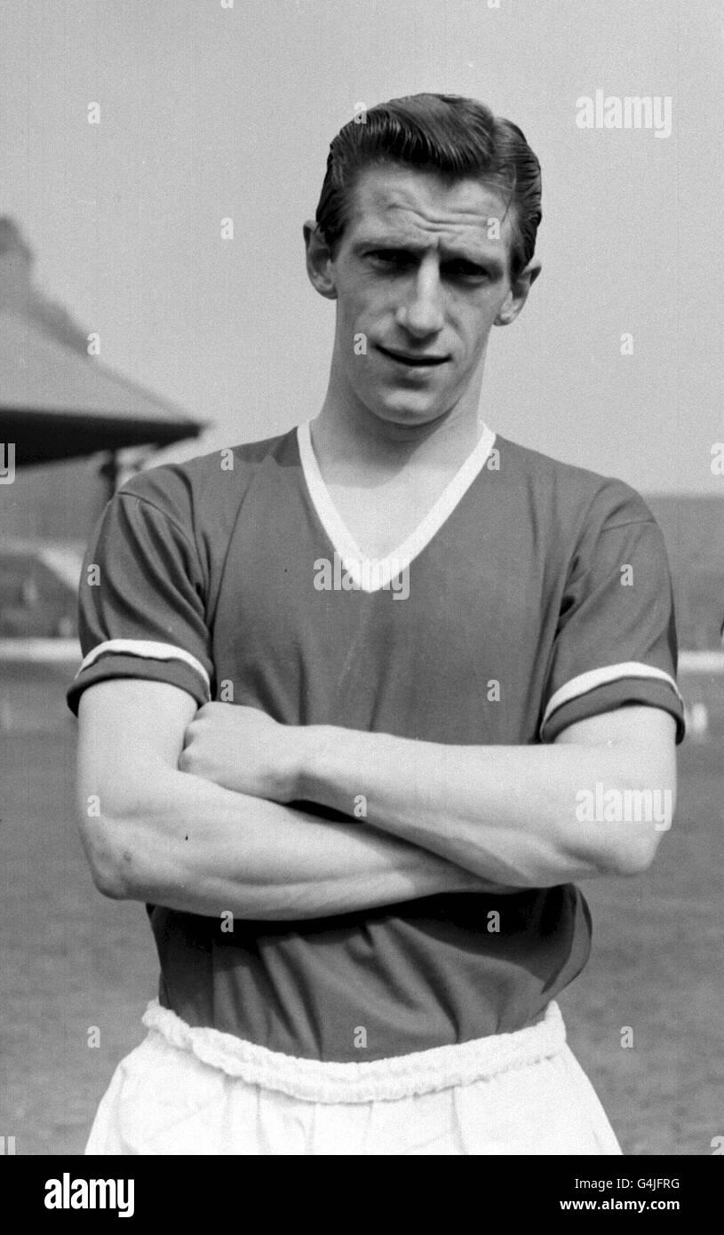 Dennis Viollet/Manchester United - Stock Image