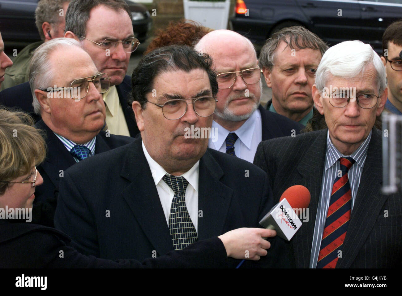 Hillsborough/Political Talks 3 - Stock Image