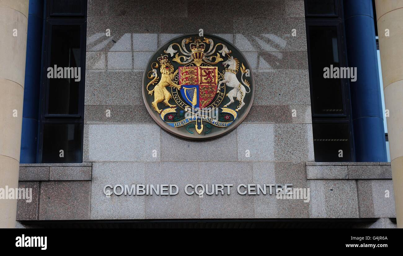 Crown court stock - Stock Image