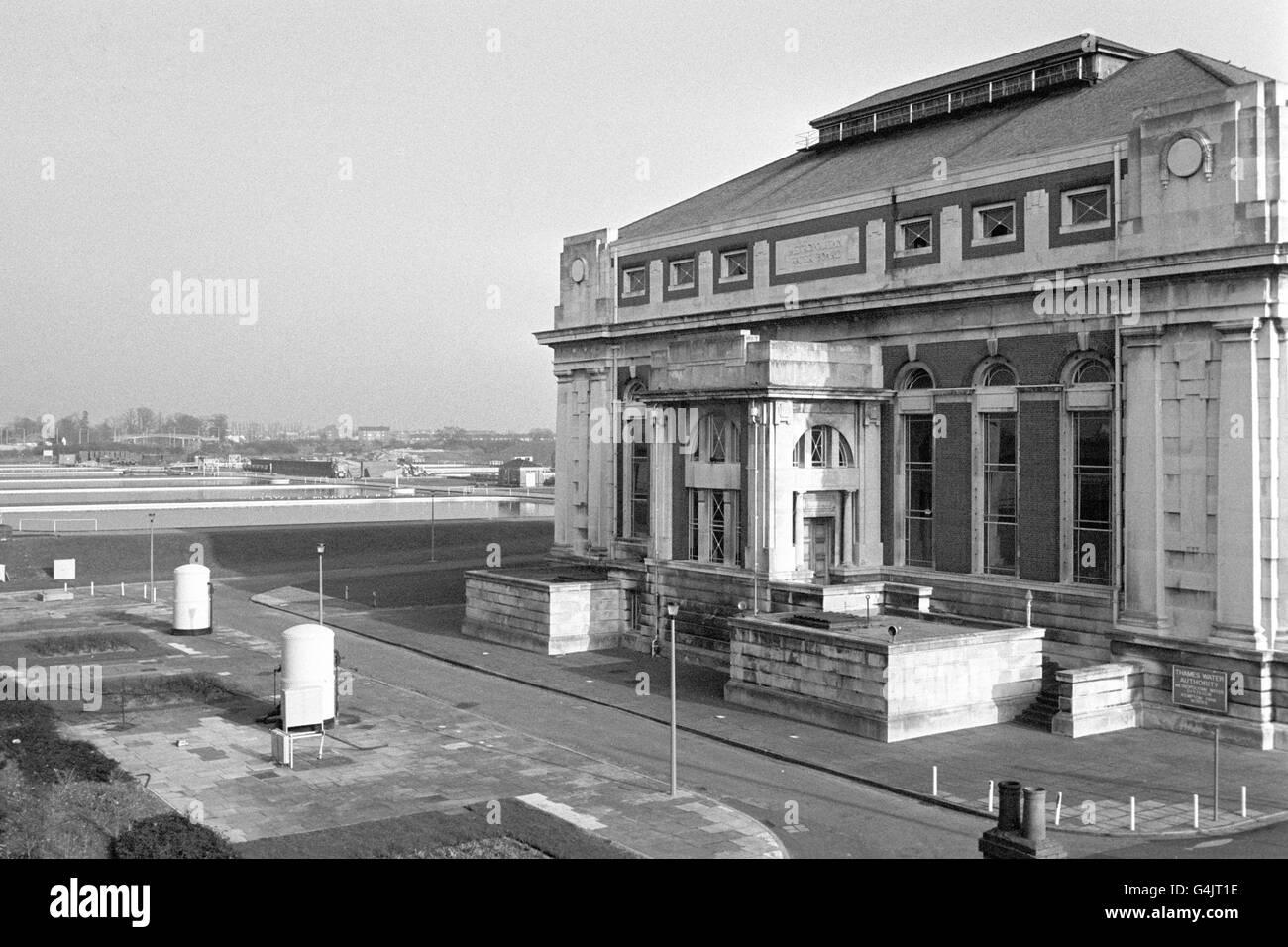 Buildings & Landmarks - Kempton Park Waterworks Stock Photo