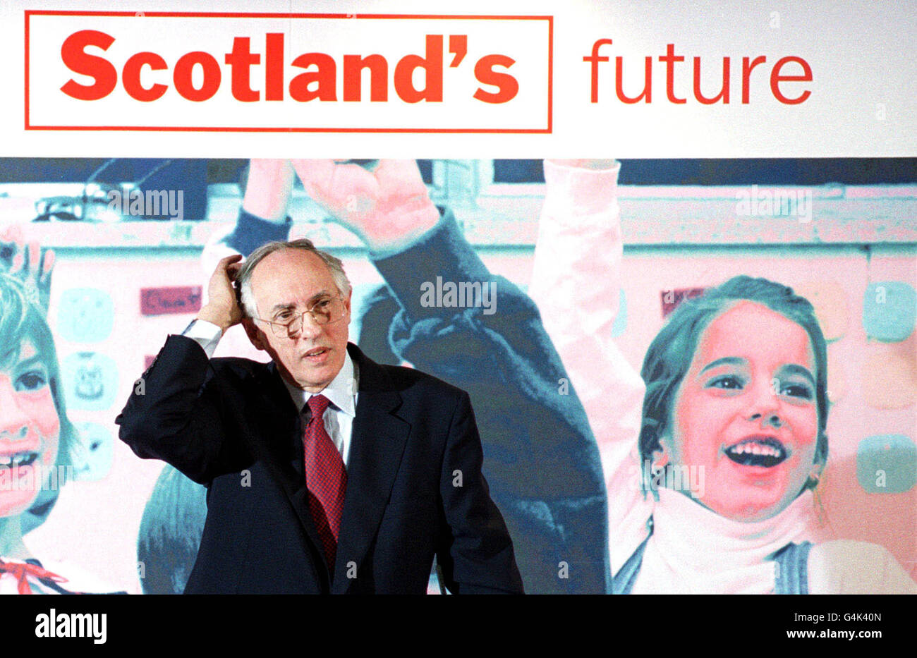 Scottish elections/Lab manifesto - Stock Image