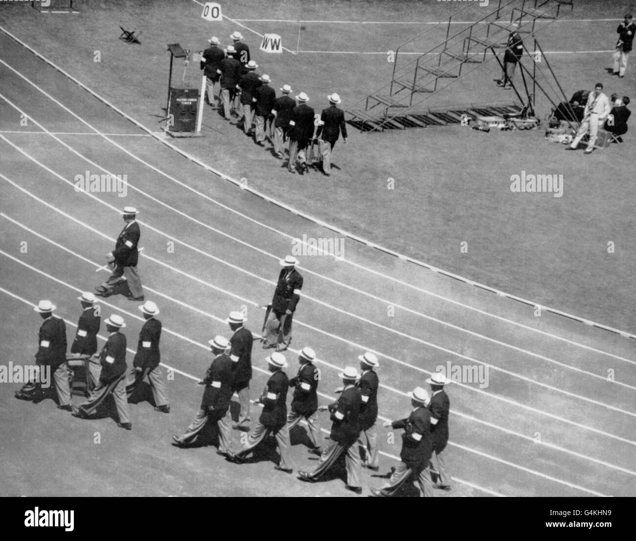 Olympic Games - Melbourne 1956 - Stock Image