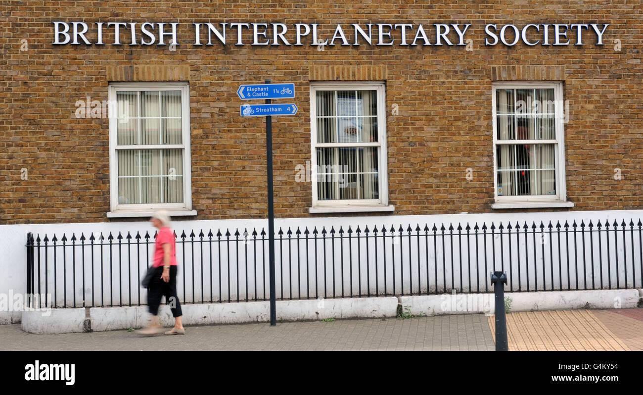 Generic stock: The London headquarters of the British Interplanetary Society. - Stock Image