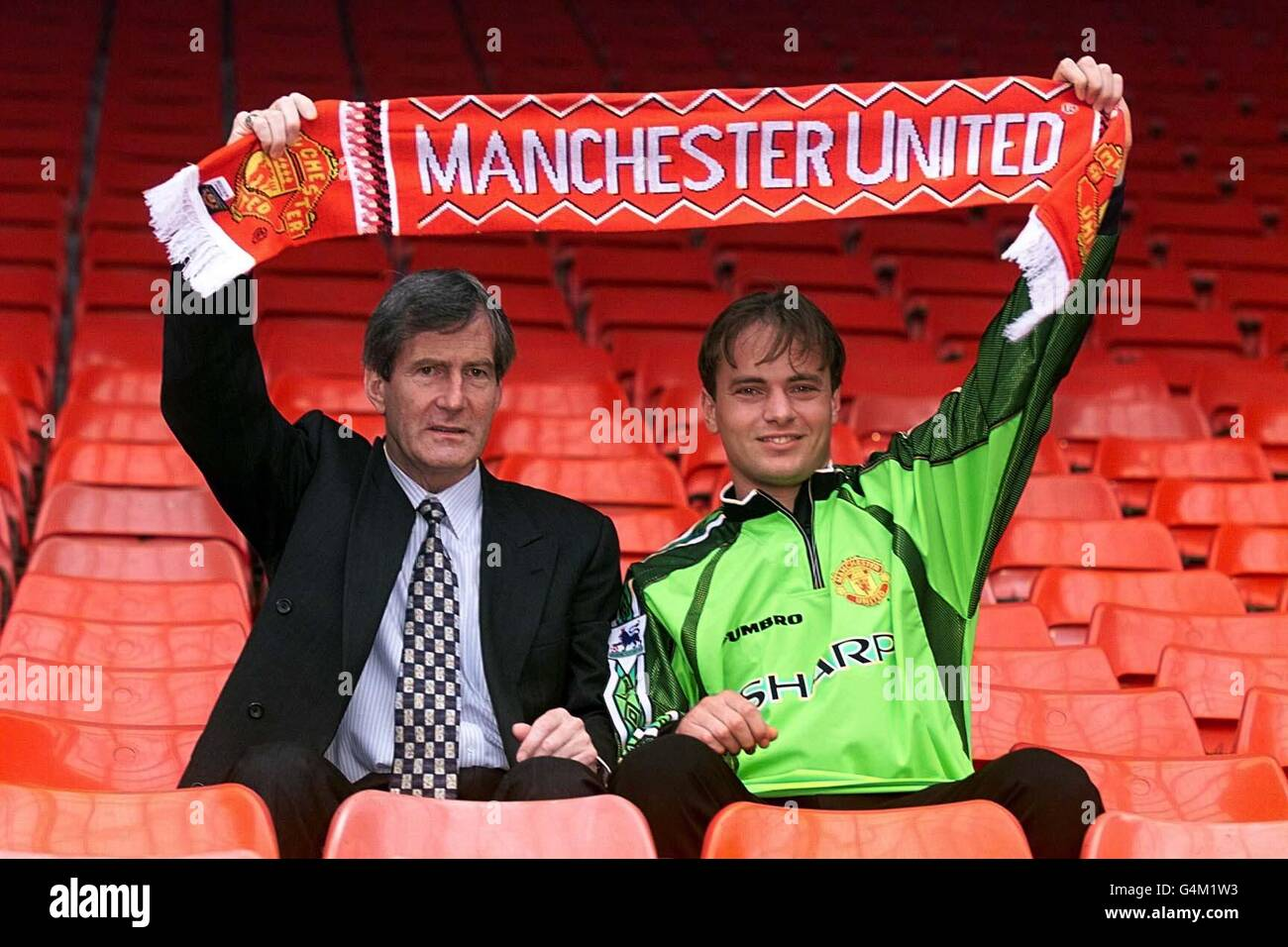 Man Utd/Bosnich & Edwards - Stock Image
