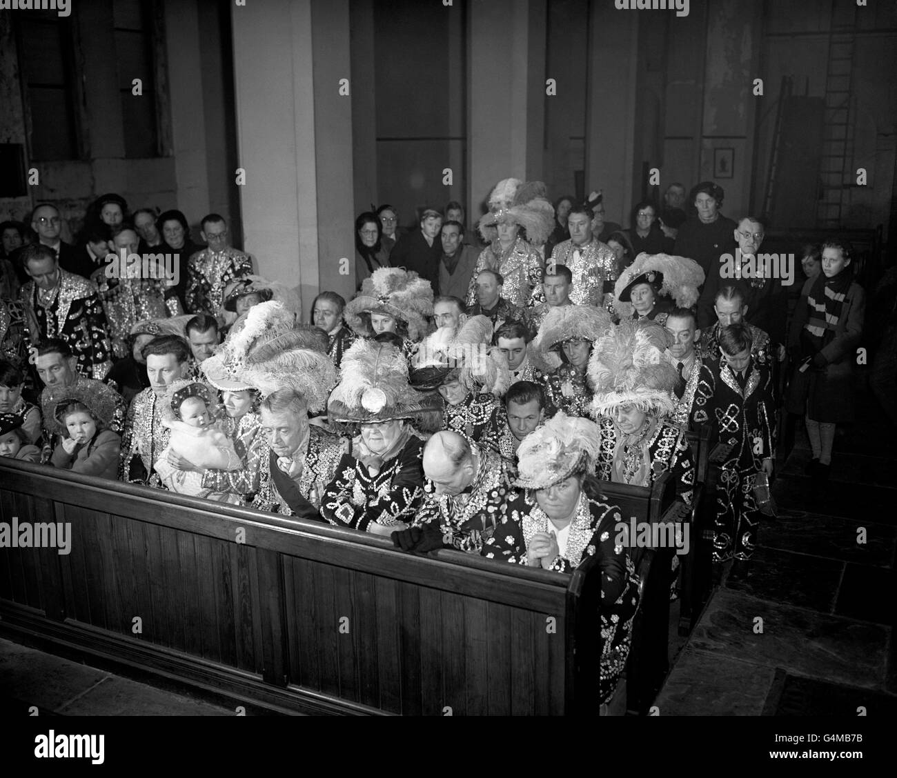 Royalty - Death of King George VI - London - Stock Image