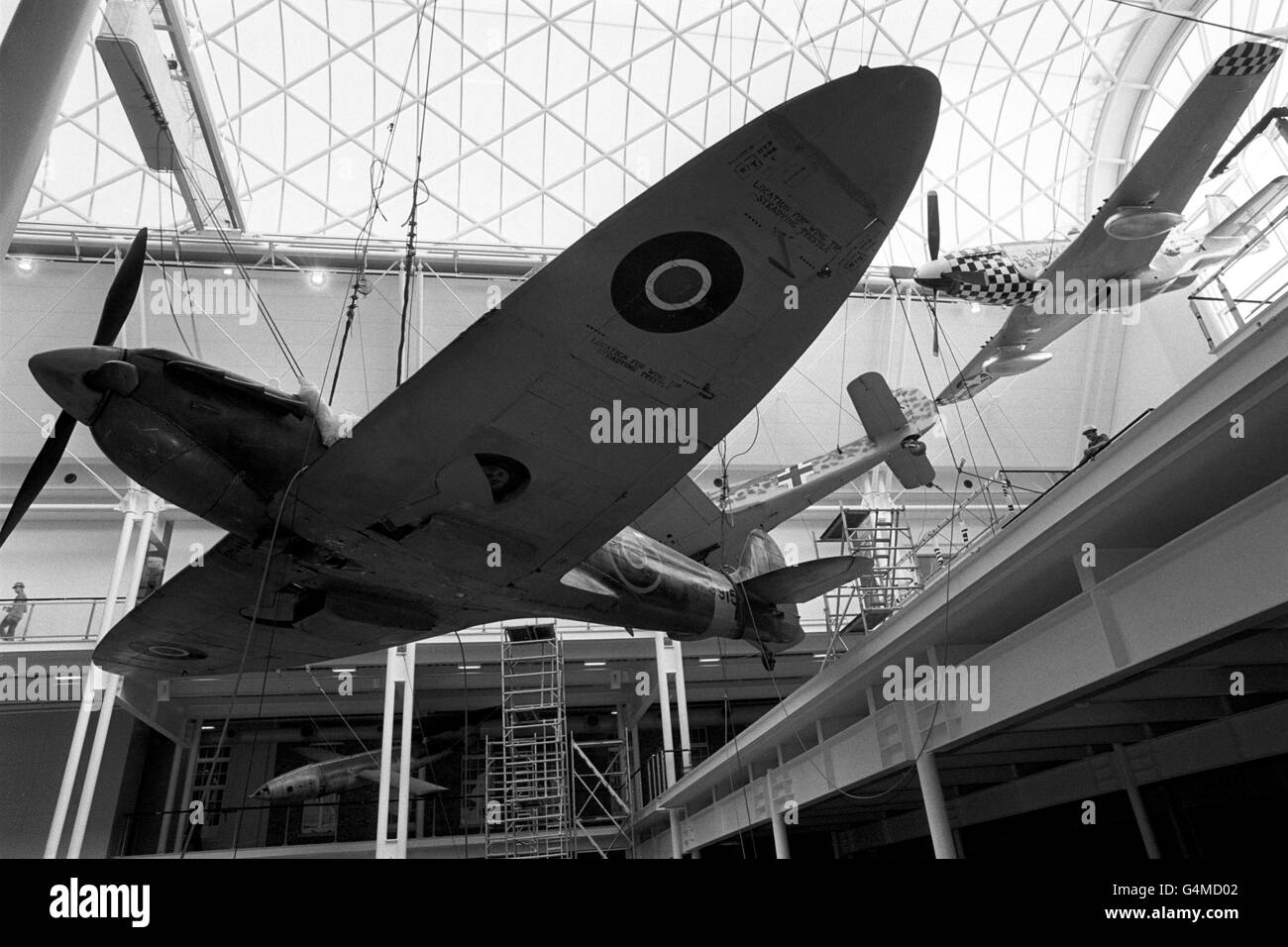 Leisure and Tourism - Imperial War Museum - London - Stock Image