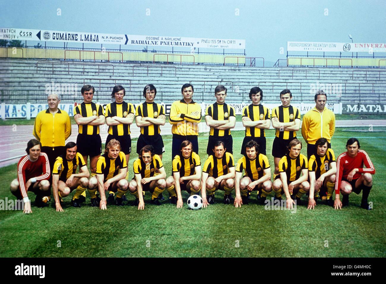 Soccer - FK Inter Bratislava - Stock Image