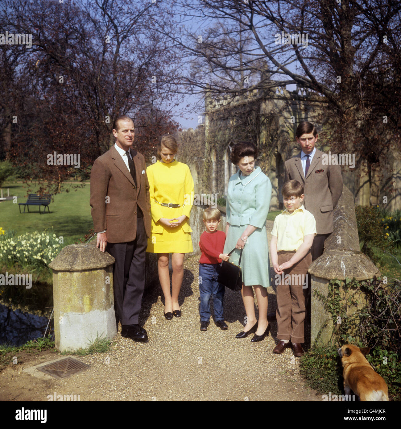 Royalty - Royal Family - Frogmore House, Windsor - Stock Image