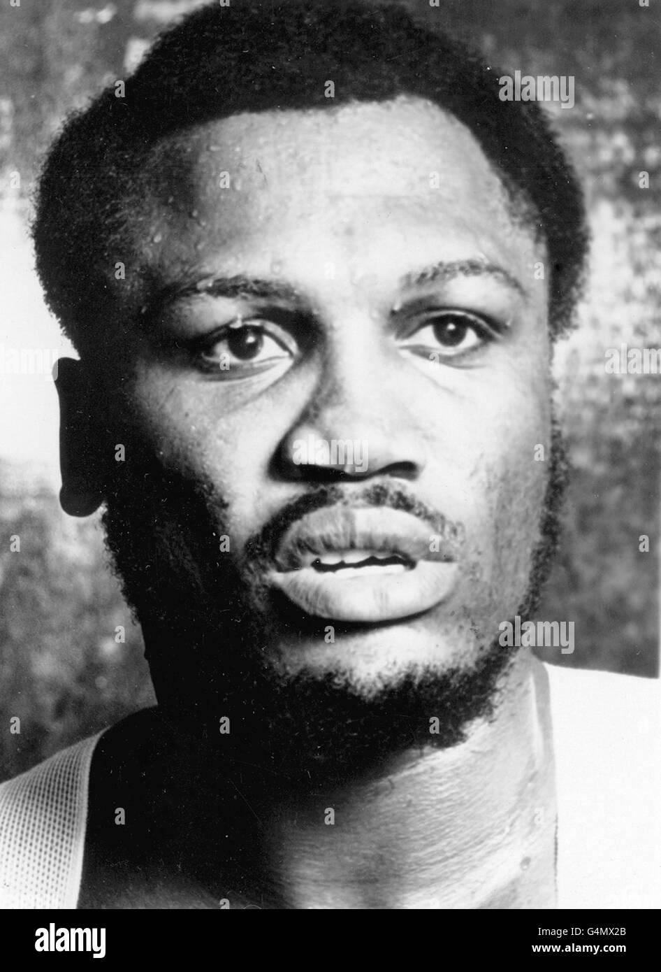 Boxing - Heavyweight - Joe Frazier - Stock Image