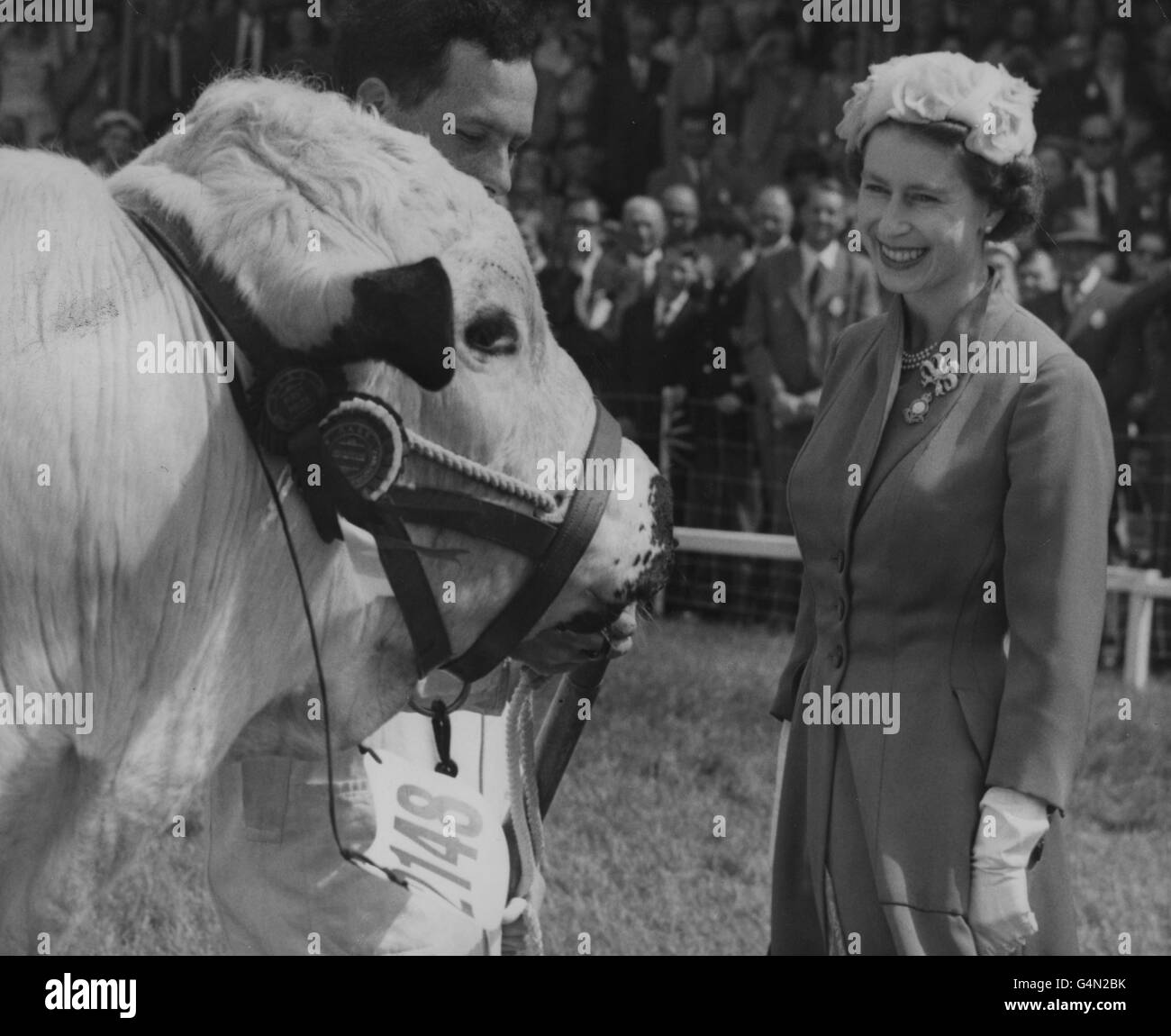 Royalty - Royal Agricultural Show - Norwich - Stock Image