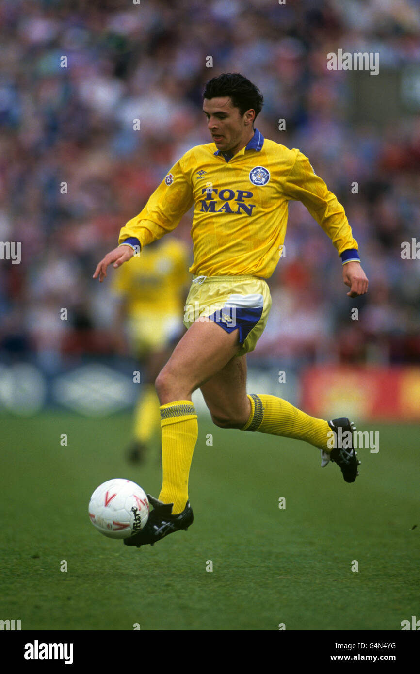 Soccer - Barclays League Division One - Nottingham Forest v Leeds United - City Ground - Stock Image