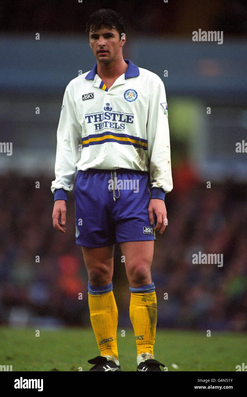 Soccer - FA Carling Premiership - Aston Villa v Leeds United - Villa Park - Stock Image