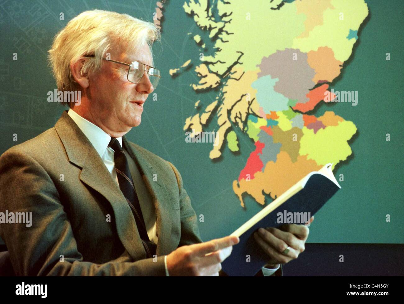 SCOTLAND Neil McIntosh /report - Stock Image