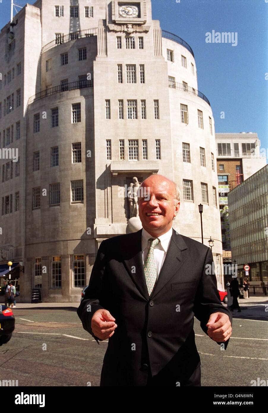 BBC/Dyke/Director General - Stock Image