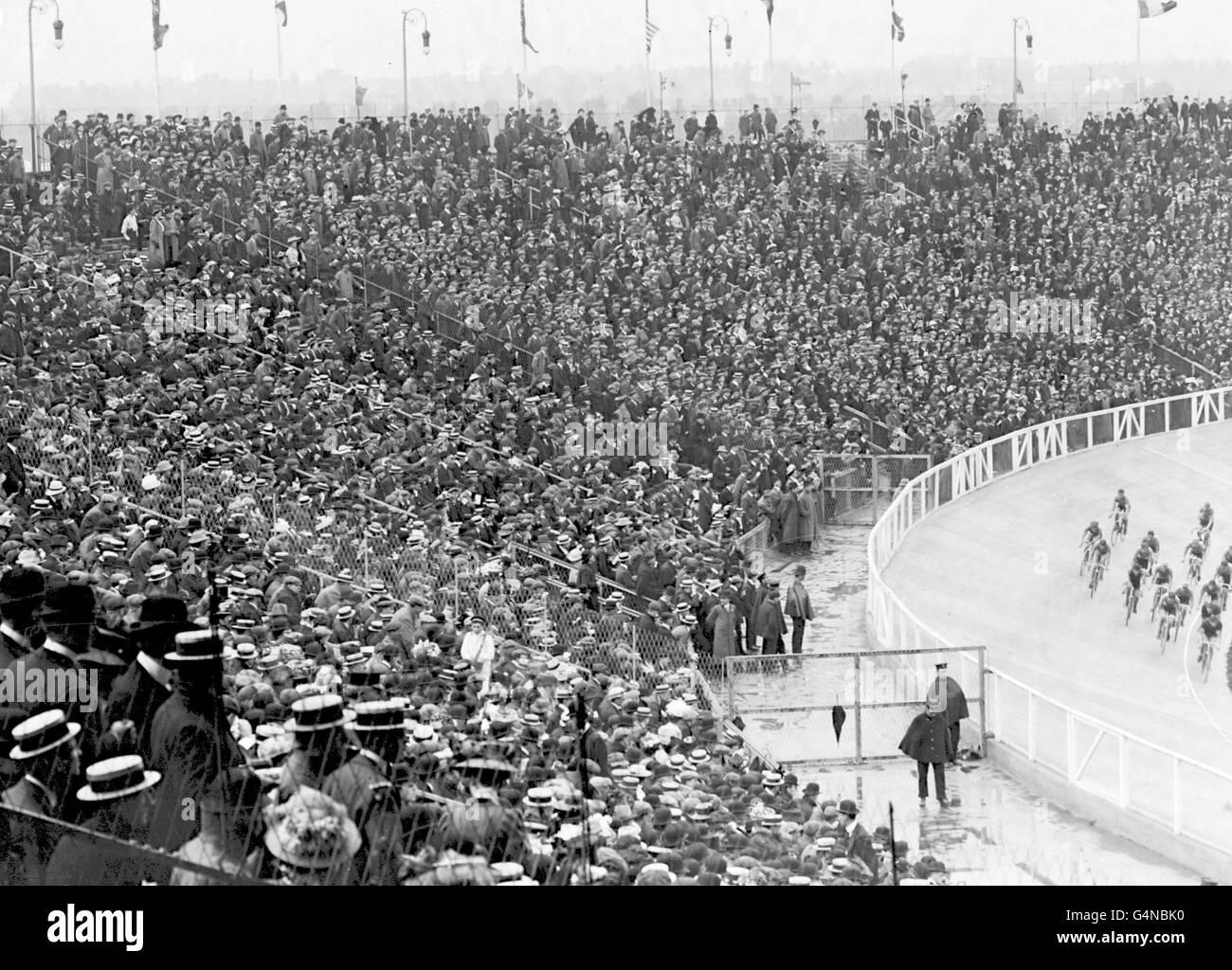 LONDON OLYMPICS : 1908 - Stock Image