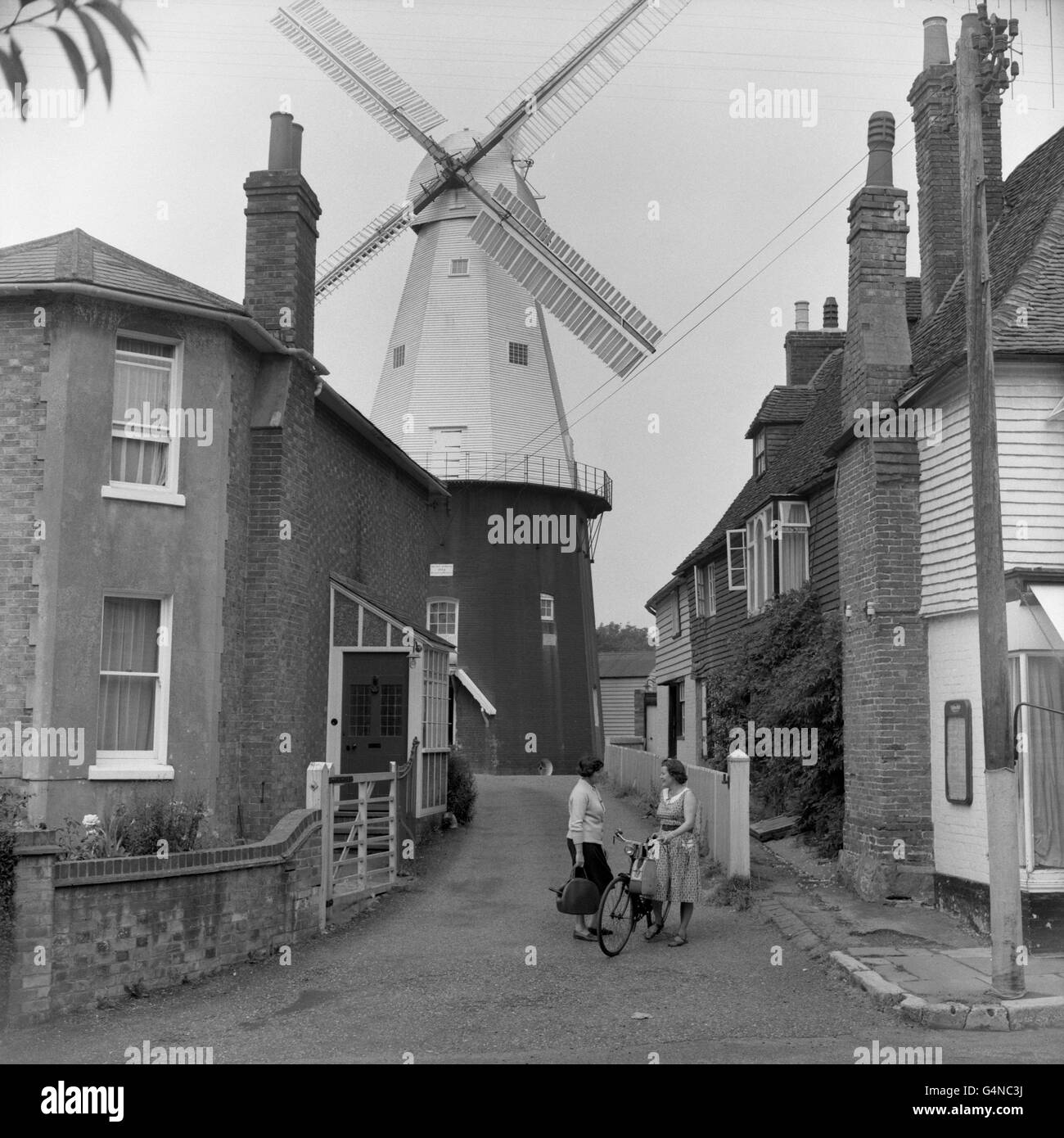 Buildings and Landmarks - Windmills - Cranbrook - Stock Image