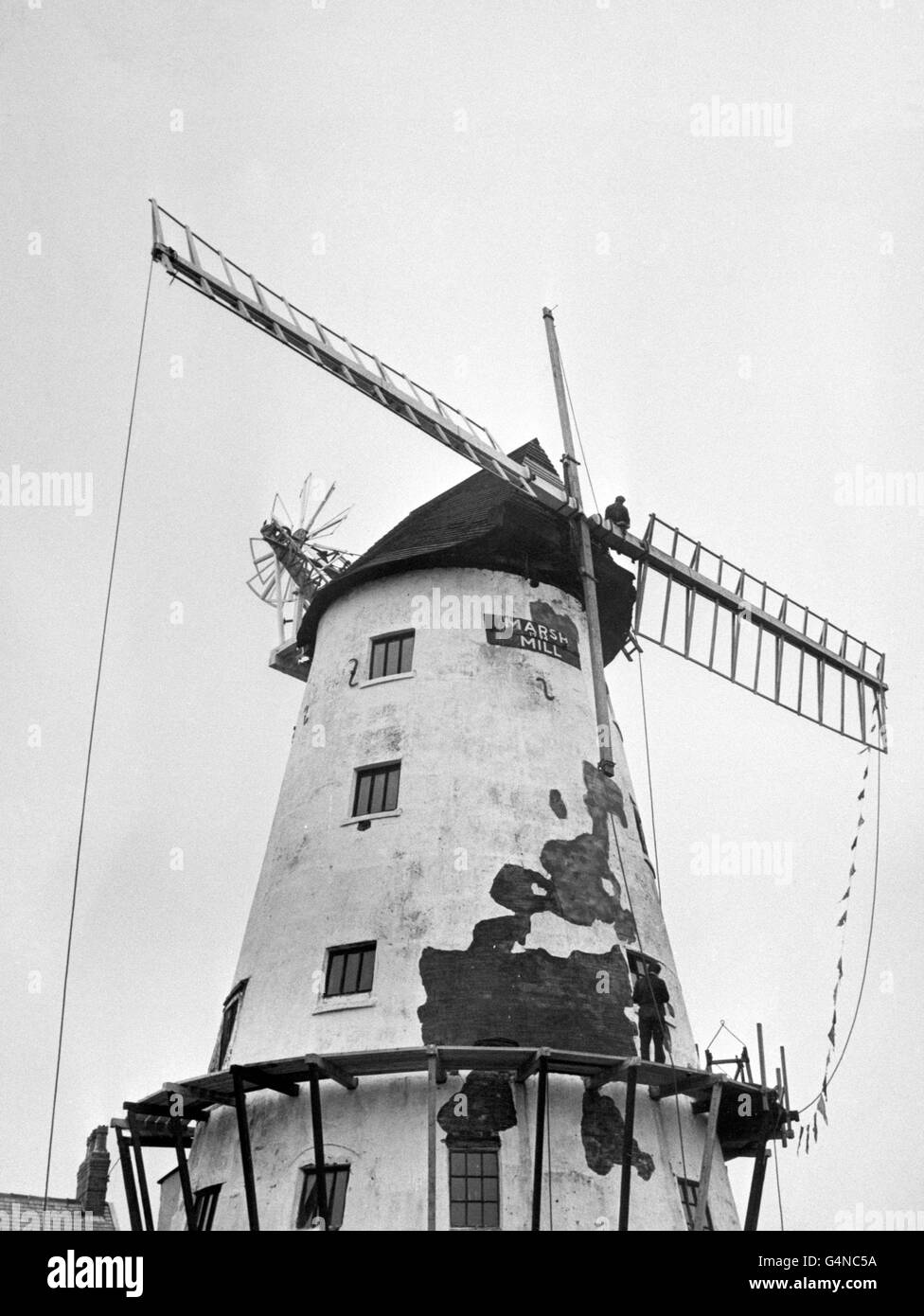 Buildings and Landmarks - Windmills - Thornton-Cleveleys Stock Photo