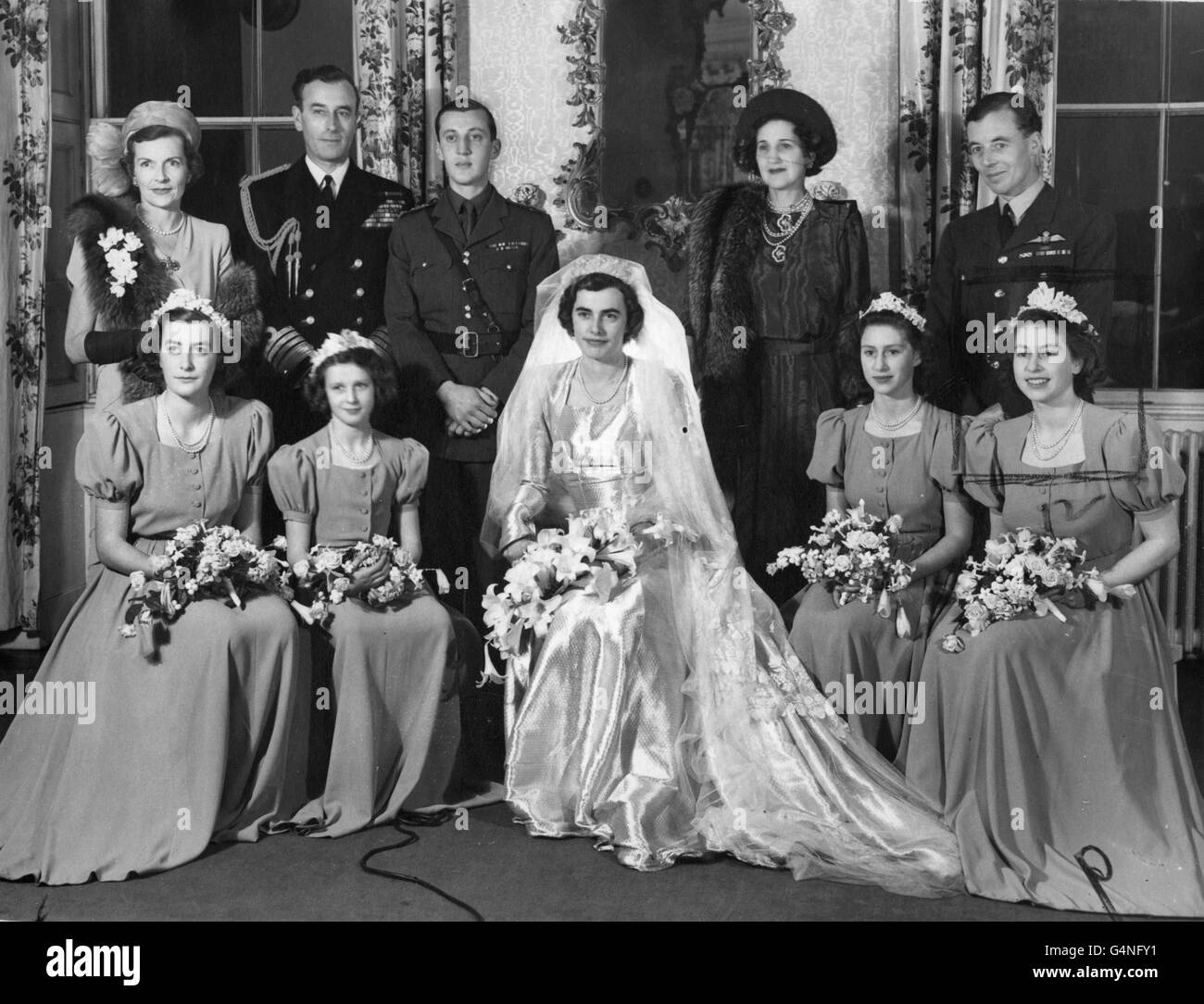 Royalty - Hon. Patricia Mountbatten and Lord Brabourne Wedding ...