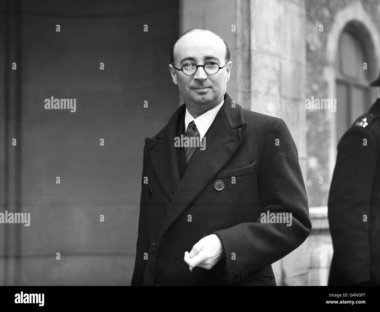 Politics - Lynskey Tribunal - Minister Bribery Allegations - London Stock Photo