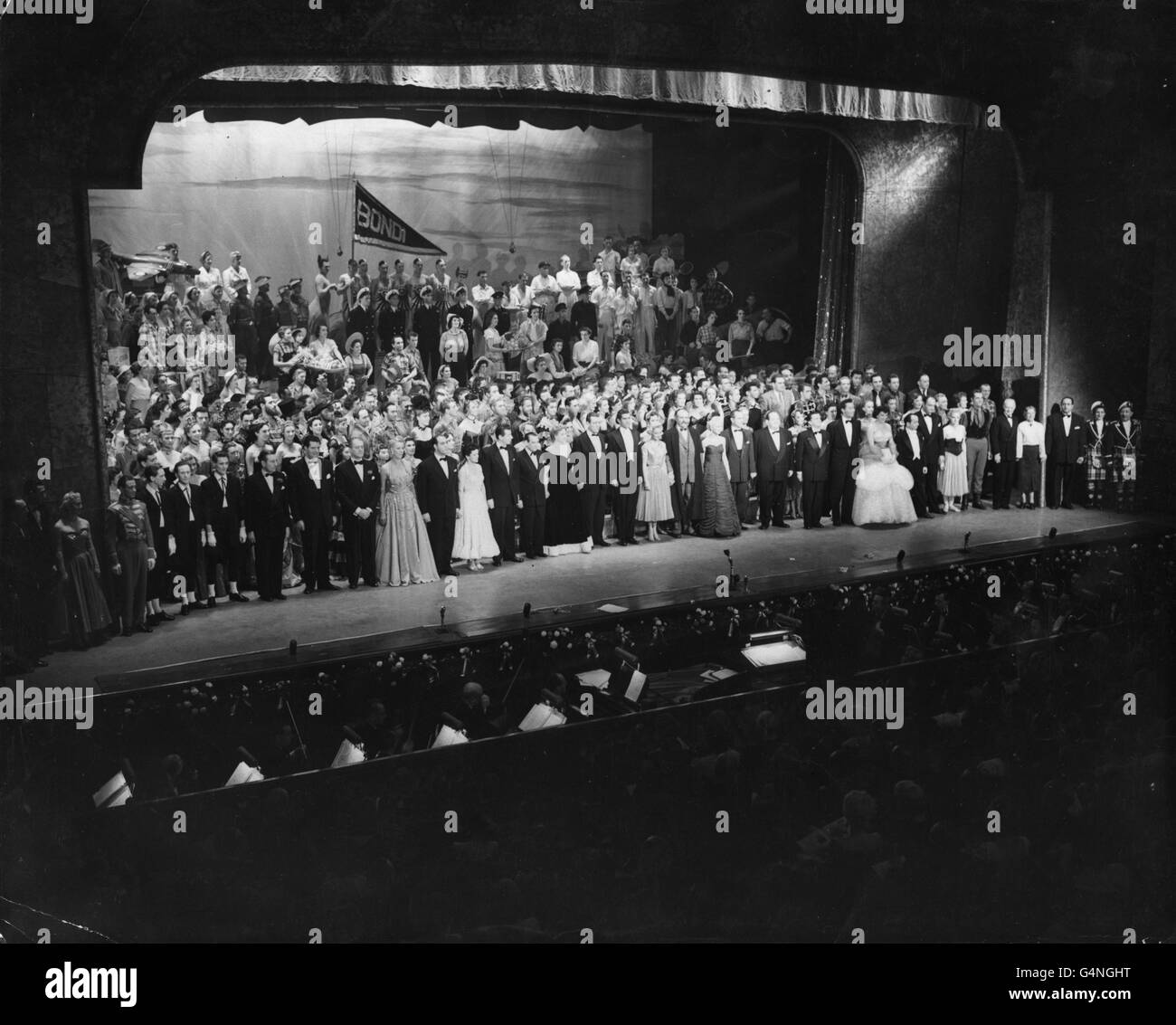 Theatre - Royal Command Variety Performance - Coliseum, London - Stock Image