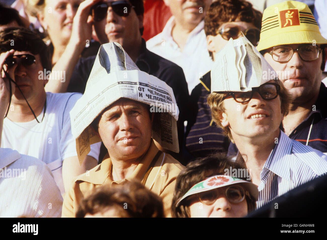 Olympic Games - Moscow 1980 - Stock Image