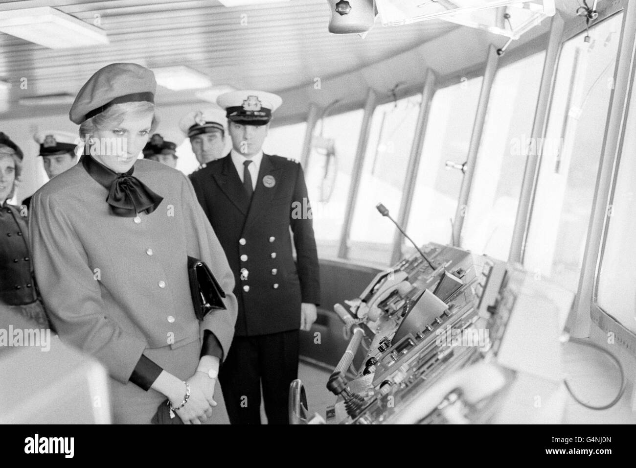 Royalty - Princess of Wales P&O Royal Princess Naming - Southampton - Stock Image