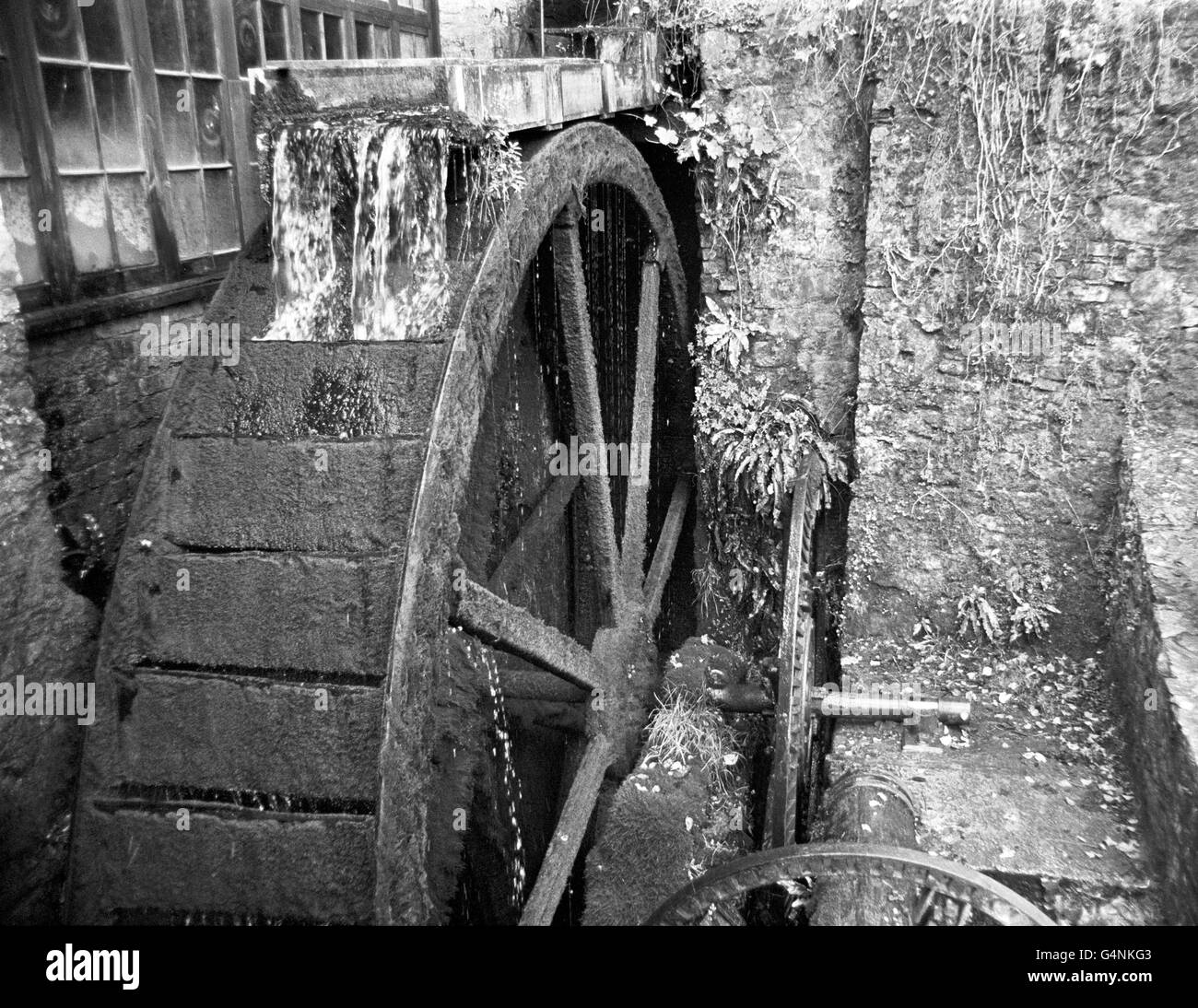Buildings and Landmarks - Water-Mills - Cockington - Stock Image
