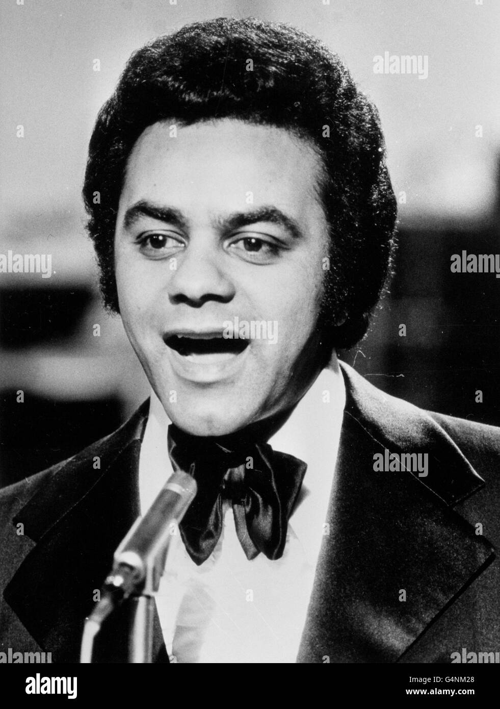 Music - Johnny Mathis - Stock Image
