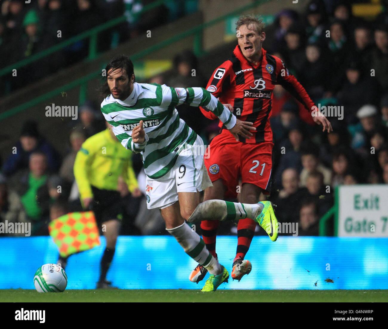Soccer - Clydesdale Bank Scottish Premier League - Celtic v St Mirren - Celtic Park - Stock Image