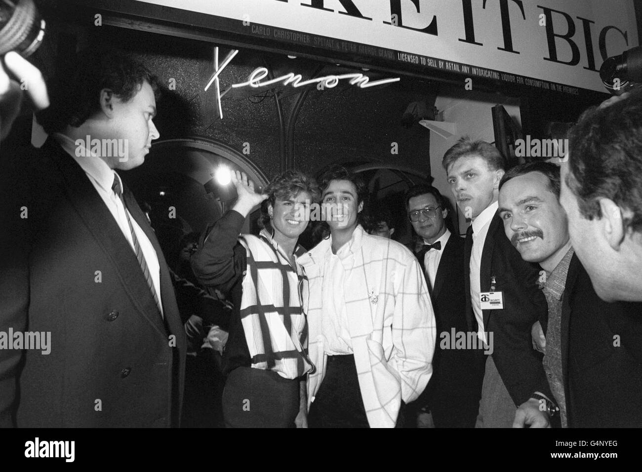 Music - Wham! Launch Party - London - Stock Image