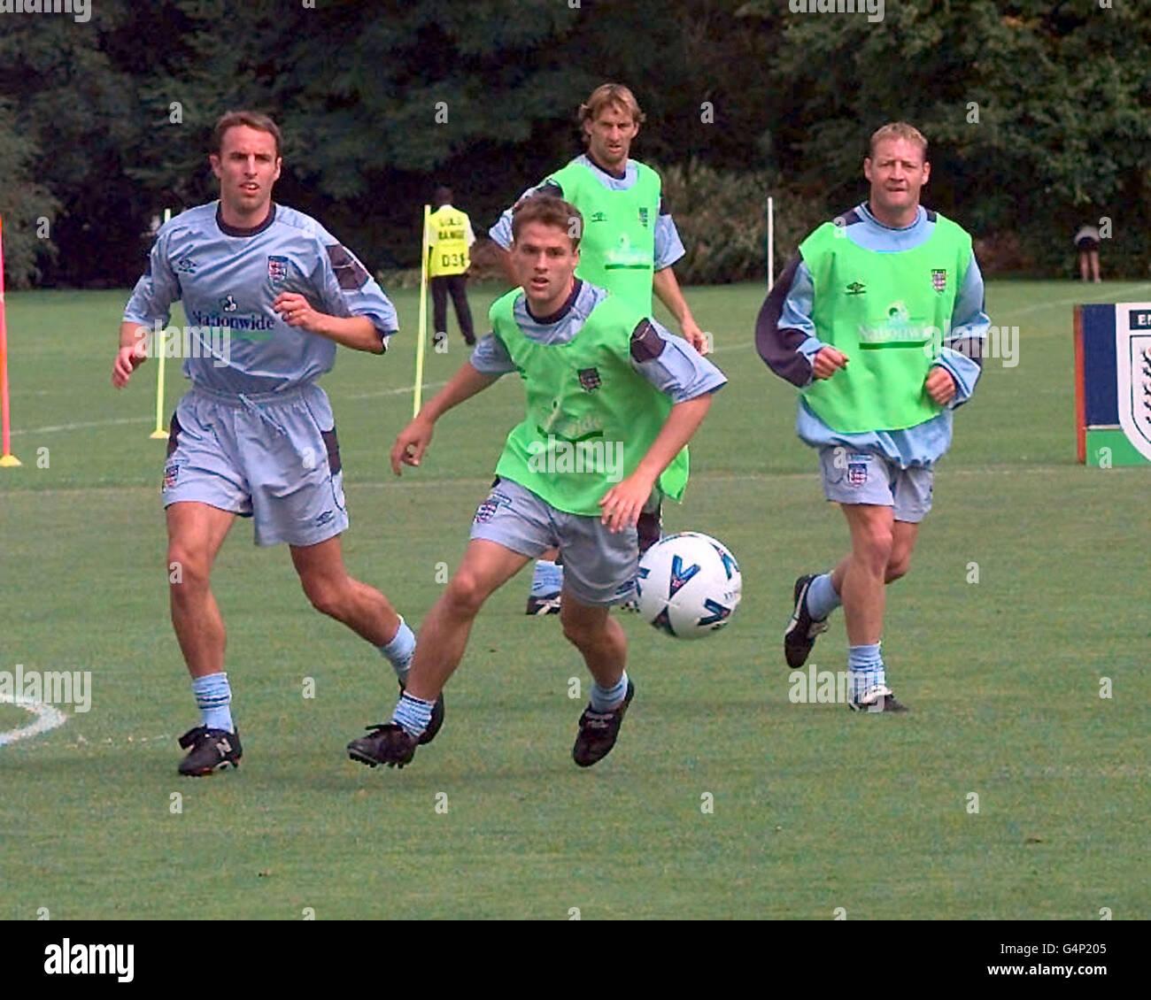 SOCCER England Training 3 - Stock Image